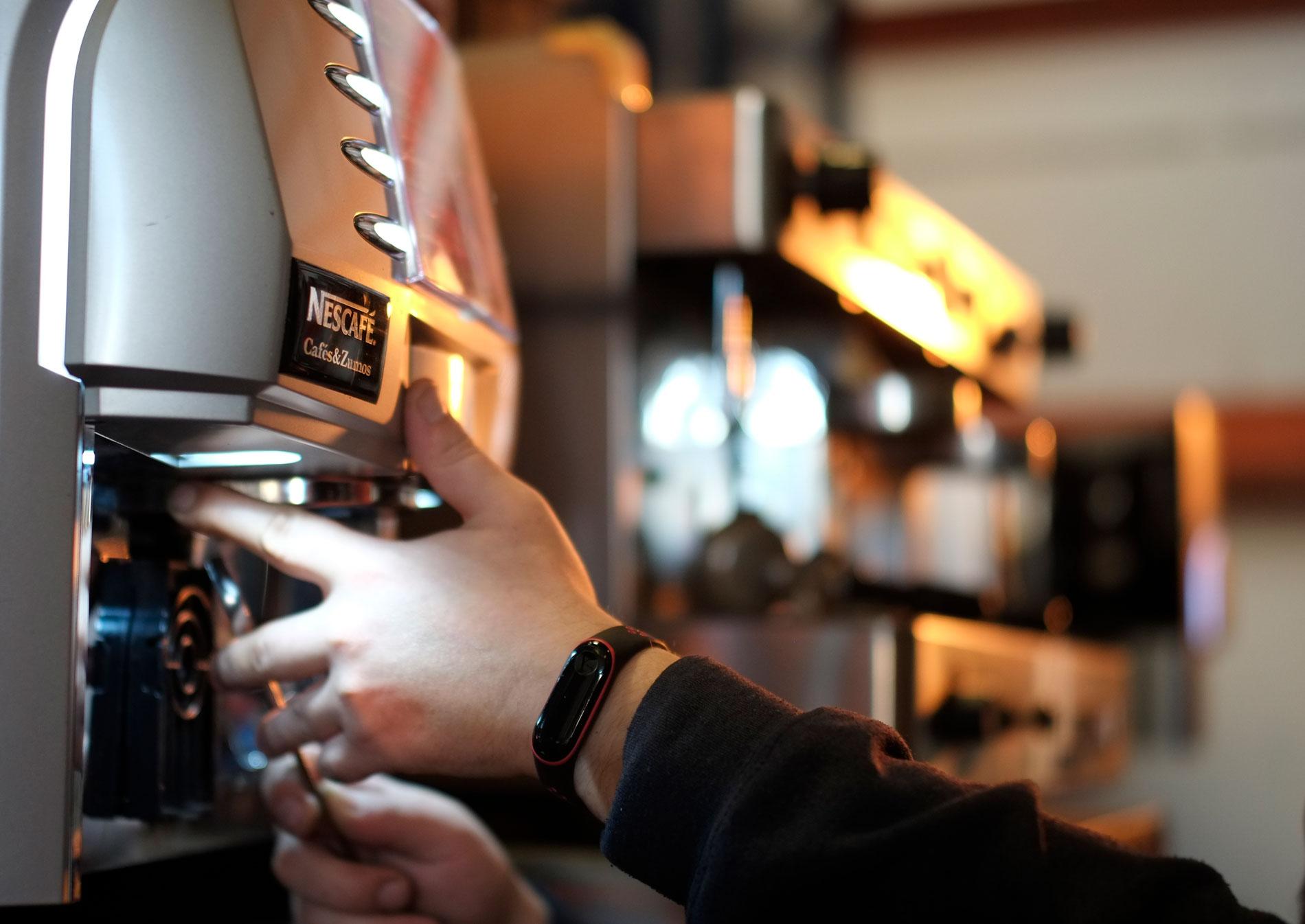 maquina de cafes para hoteles dispensing